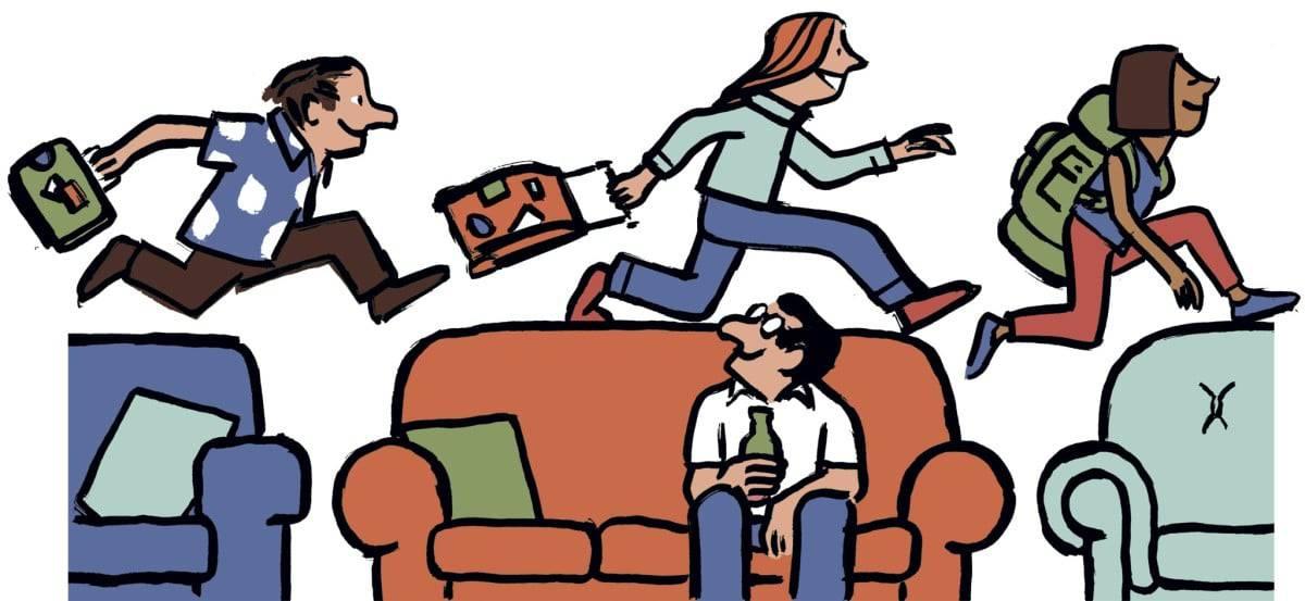 Couchsurfing siti più diffusi