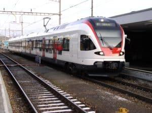 Foto di un treno