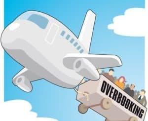 vignetta simpatica su overbooking -cosa fare overbooking aereo