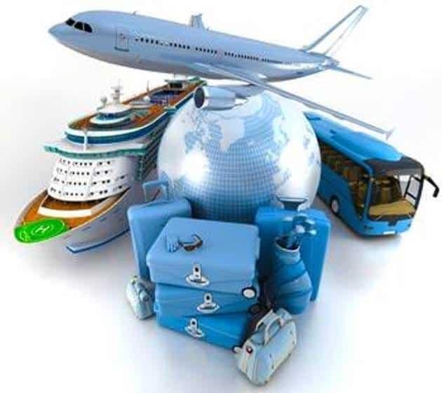 Alcuni mezzi di trasporto utilizzati nel settore turistico