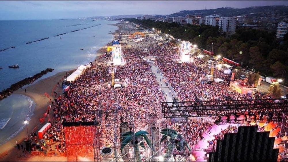 Jovanotti Beach party 2019 - Turismo dei grandi eventi
