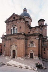 Basilica dellaGhiara:facciata esterna