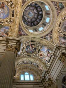 Basilica della Ghiara _Uno scorcio della volta e della cupola
